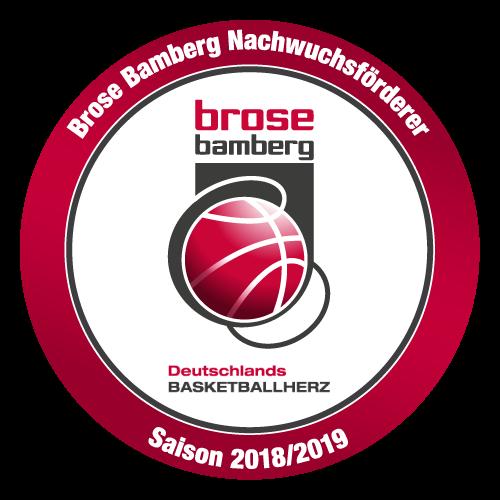 Sponsor der Brose Bamberg Nachwuchsförderung